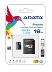 CARTE MICRO SD 16GB CLASS10 + ADAPTATEUR